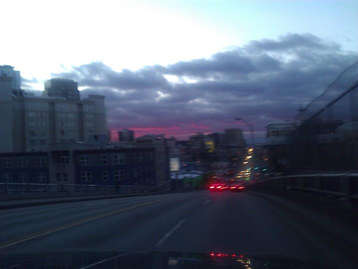 Seattle Sky Fire